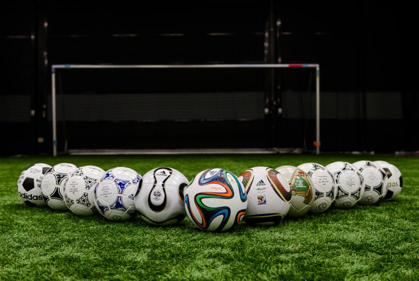 The History Of The Official World Cup Match Balls Fifa World Cup Soccer Soccer Balls