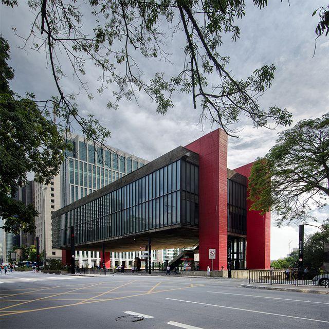 Masp Sao Paulo Museum Of Art Sao Paulo Sp Brazil