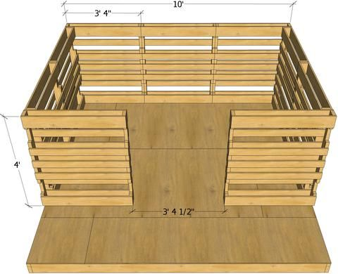 Free Pallet Playhouse Plan   Pallet playhouse, Pallet house ... on free treehouse plans blueprints, free playhouse blueprints, free raised garden plans, elevated clubhouse plans, free raised deck plans, outdoor fort plans, free raised planter plans,