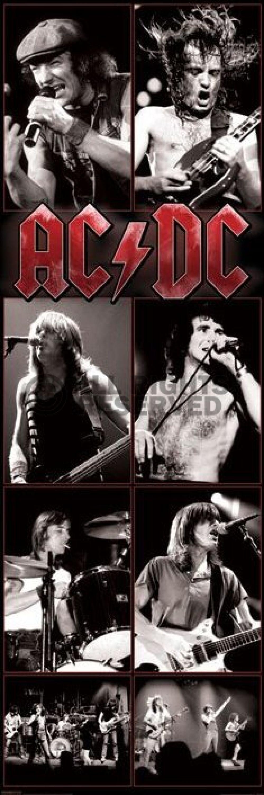 Poster: AC/DC - live