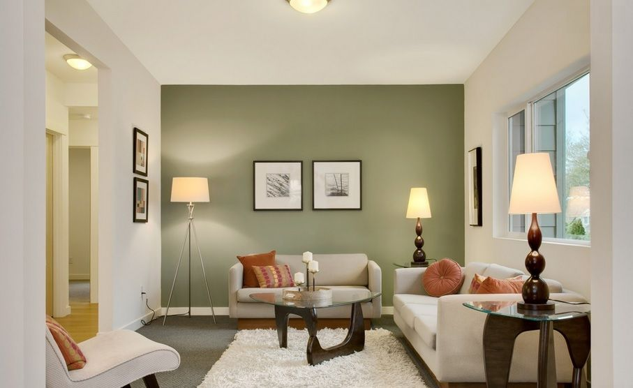 Colores Calidos Para Sala Buscar Con Google Sage Green Living Room Contemporary Living Room Design Living Room Accents