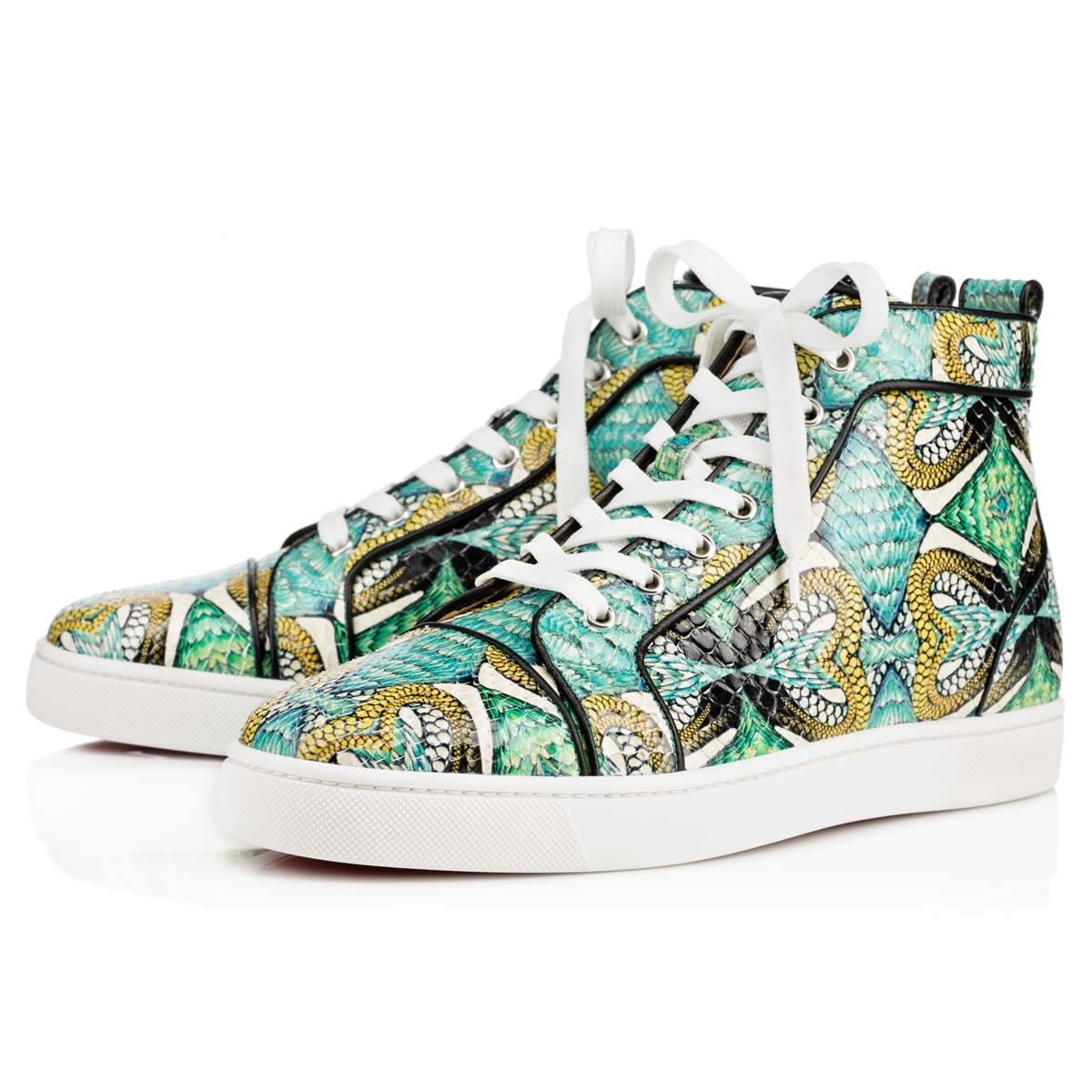 07618d65d7b0 Tapestry Rantus Orlato Shoes by Christian Louboutin in 2019 ...