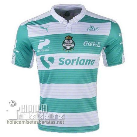 dc2474edf4 Camiseta Primera Tailandia Santos Laguna 2015-16 €20.5