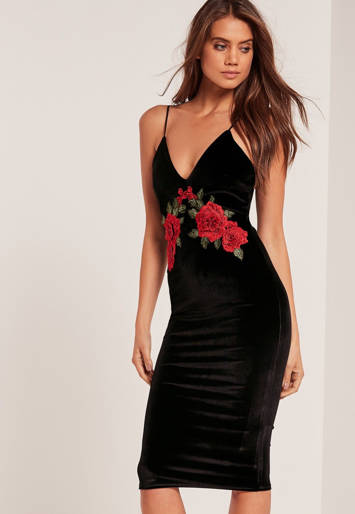 You're officially invited to the after party in this black velvet ...