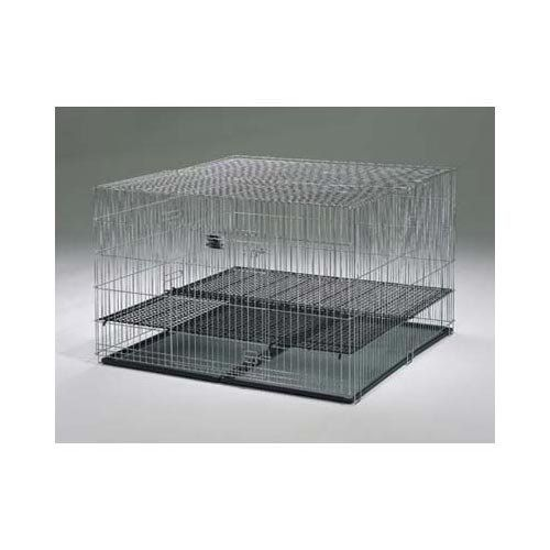 Puppy Playpen with Plastic Pans and 12 Floor Grid 48 x 48 x 30 3 Pack >>> Click image for more details.