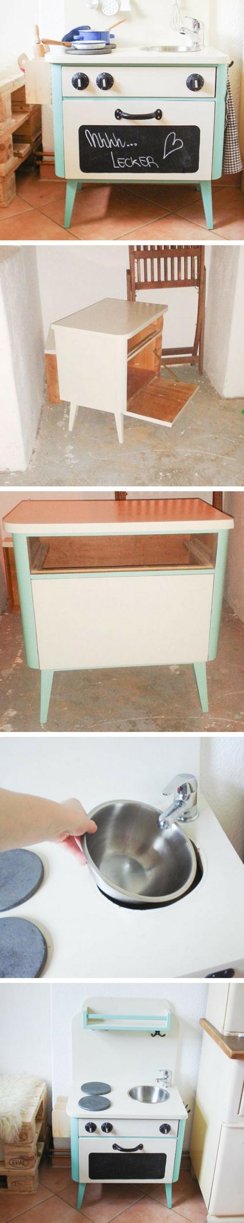 Eine Spielküche darf in keinem Kinderzimmer fehlen. Doch ...