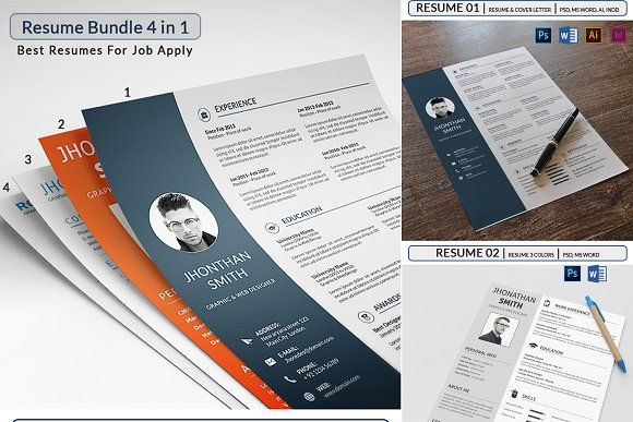 Pin by Graphics Author on Resume CV Templates Pinterest Cv