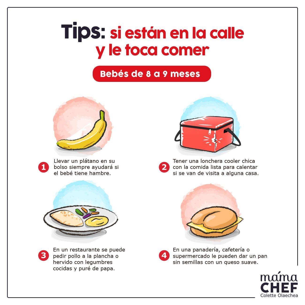 Pin De Colette Olaechea En Infografias Mama Chef Papillas Para