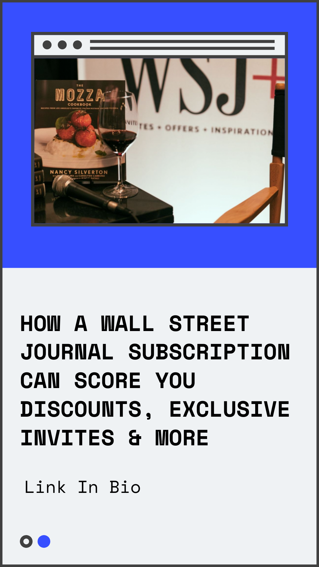 score access to events discounts more with the wall on wall st journal id=93449