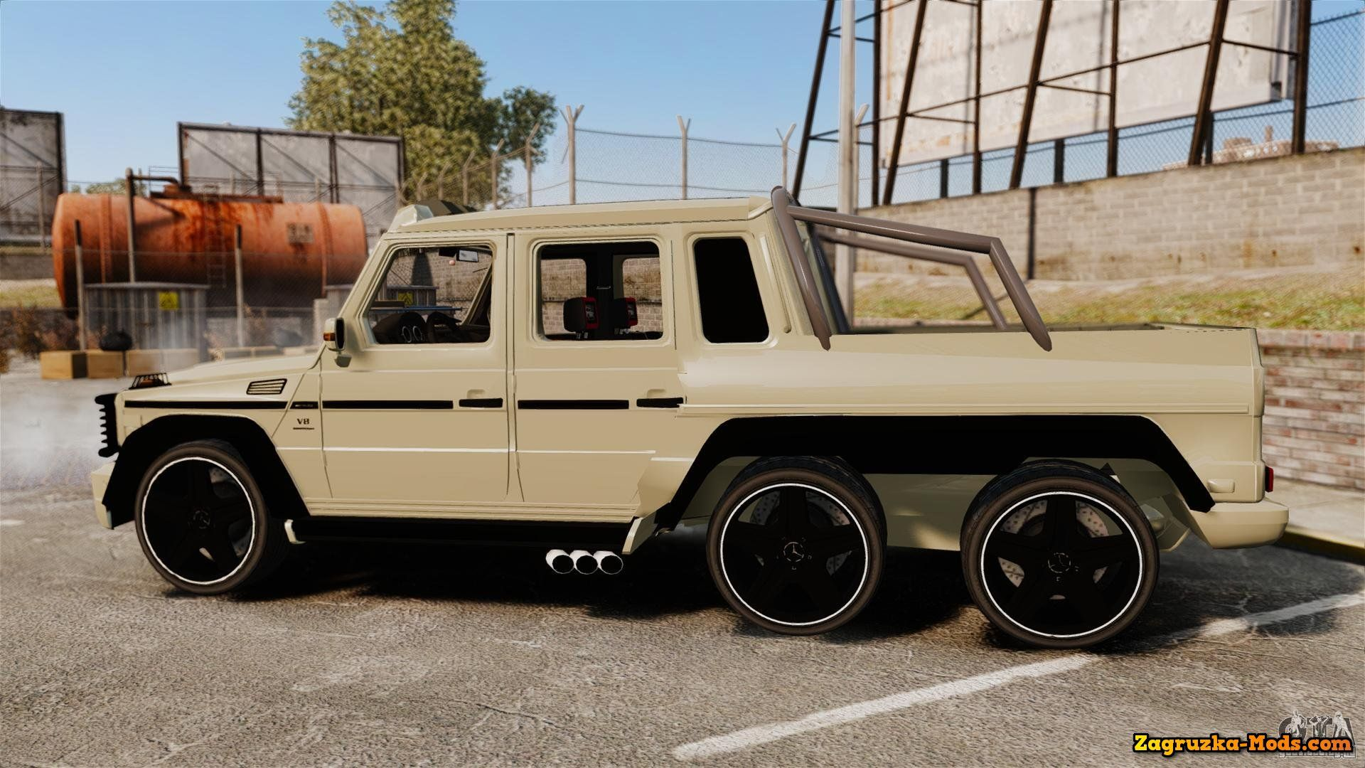 Mercedes G63 AMG 6X6  MercedesBenz G63 AMG 6x6 for GTA 4  Cars