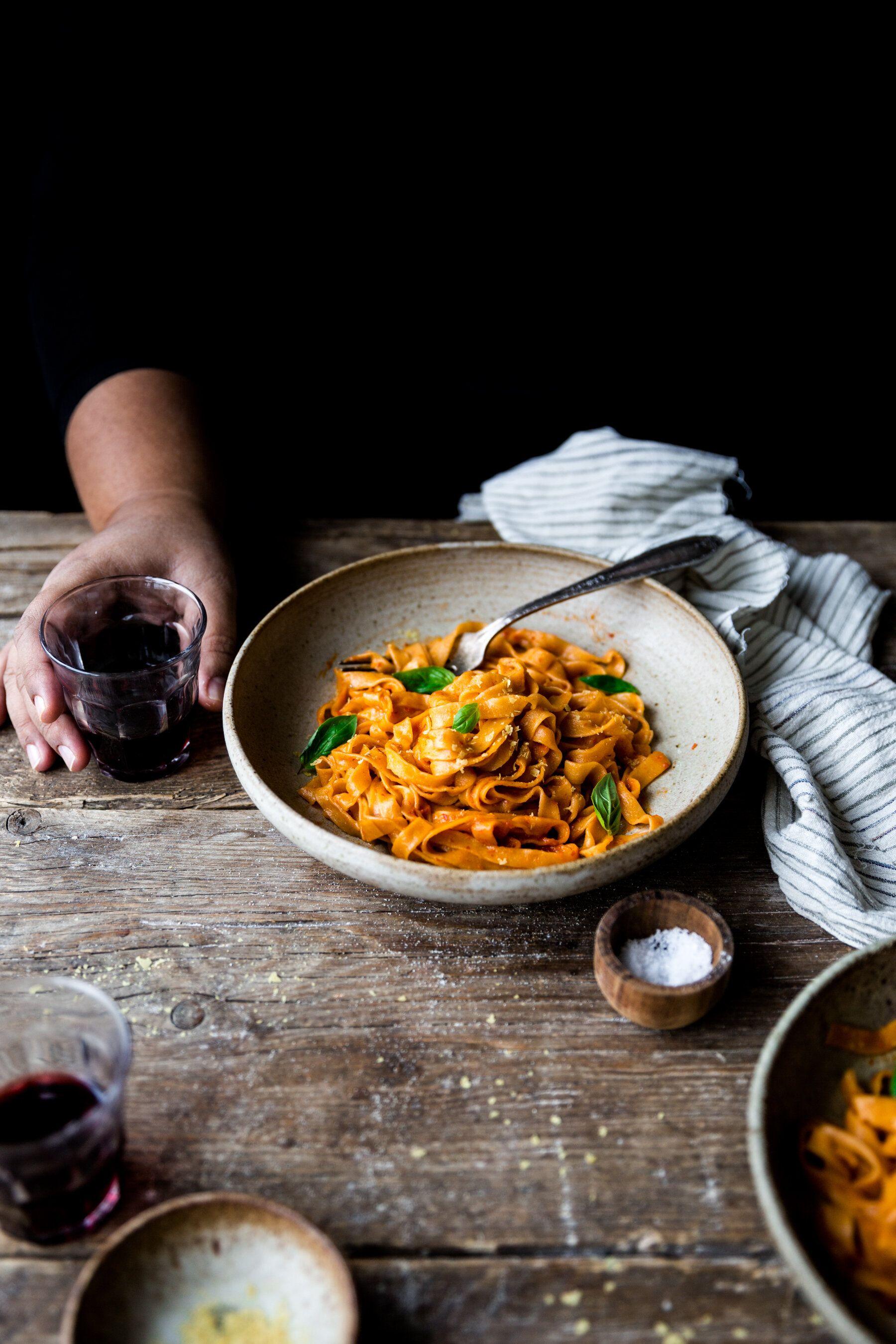 Vegan Homemade Eggless Pasta Recipe A Vegan Food Photography And Styling Blog In 2020 Vegan Food Photography Vegan Pasta Recipes Homemade Food Photography