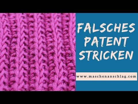 Photo of Wrong patent pattern or cartridge pattern knitting | Knitting pattern # 56 | Patent pattern