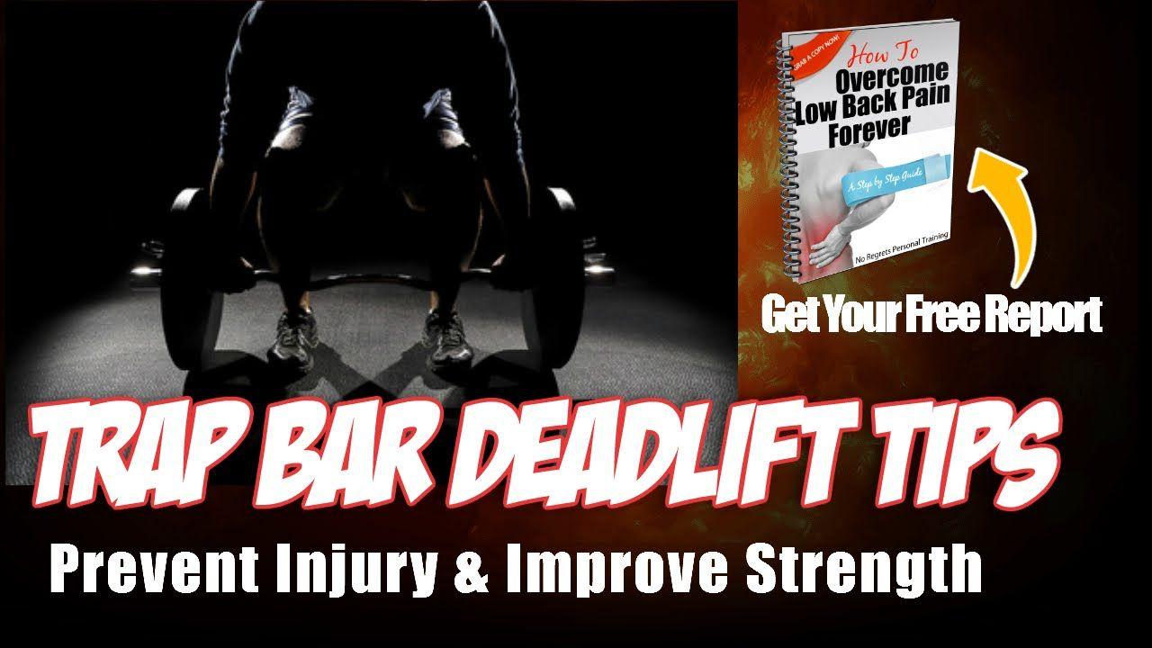 Trap Bar Deadlift Technique Tips To Prevent Injury & Improve ...