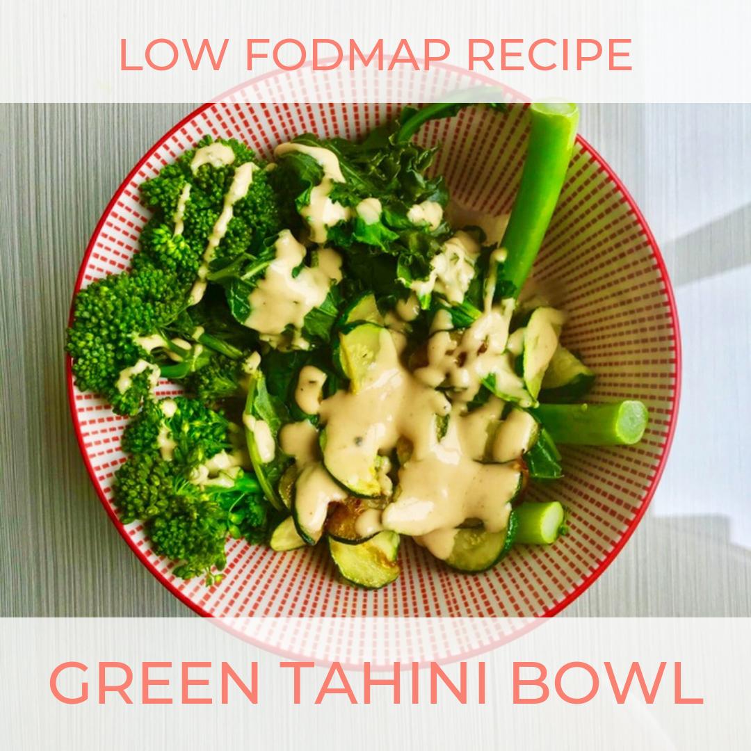 tahini and low fodmap diet
