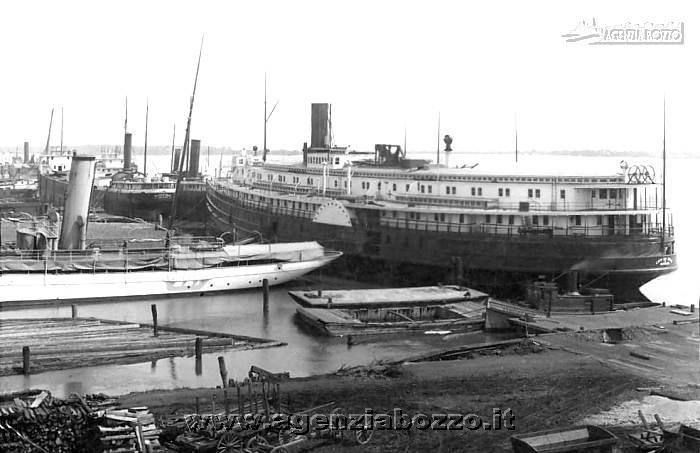 detroit in the 1930s | ... Vapore 1850-1950 | Nave a ruote City of Erie a Detroit, anno 1930