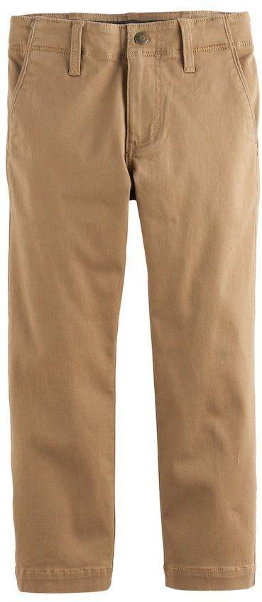 08157b95 Lee Boys 4-7x Dungarees Slim Fit Original Khaki Pants | Products