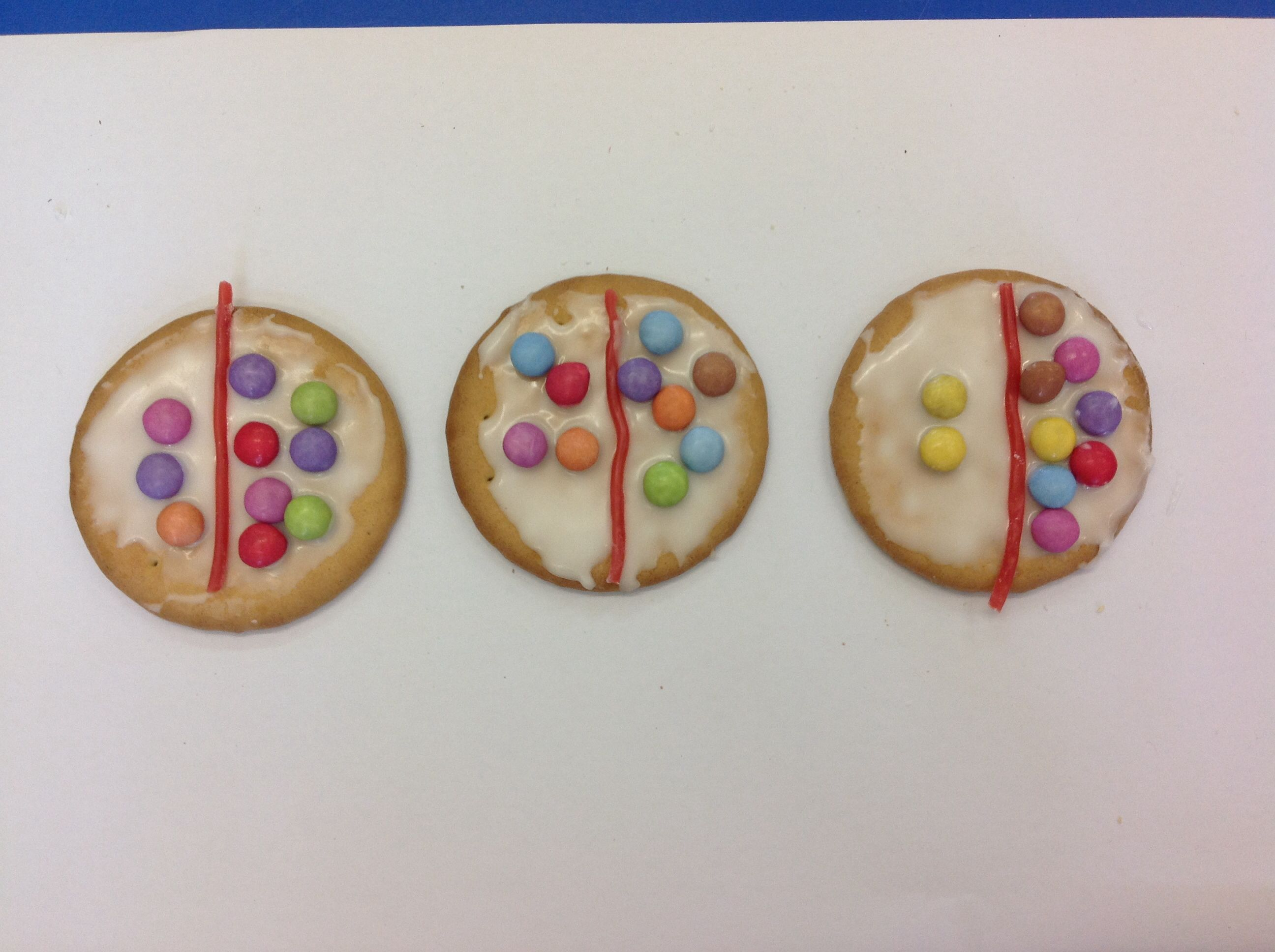 Before Making A Number Bond Biscuit As Part Of Our School S Chocolate Week Lh