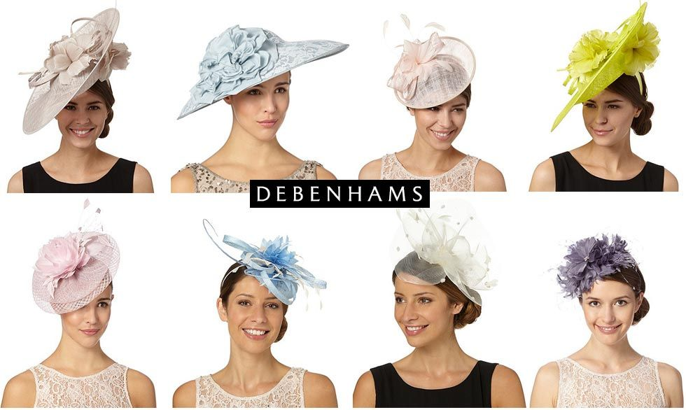 Designer Occasion Fascinators from Debenhams  0de125b3cf6