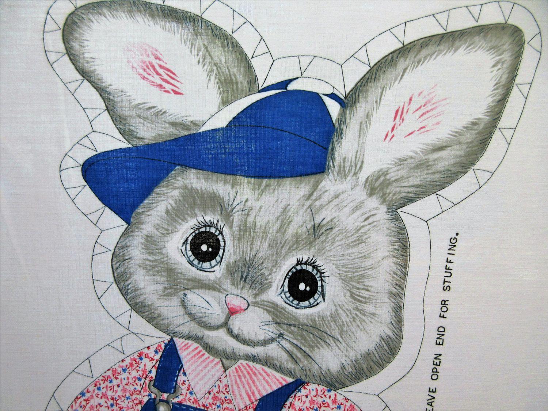 Vintage Sew and Stuff Rabbit, Boy Rabbit, Sew and Stuff Doll, Rabbit ...