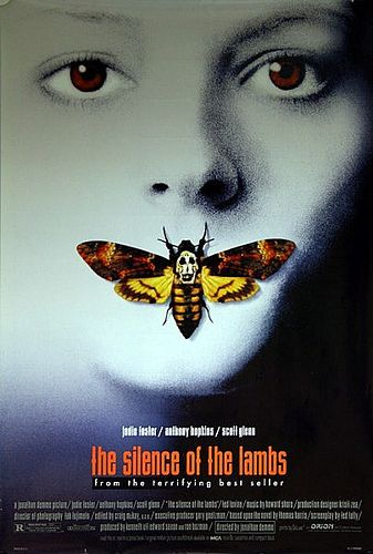 Silence Of The Lambs 1991 Original Vintage Us One Sheet Movie Poster Clarice Starling Cartazes De Filmes De Terror Filmes Vintage Cartazes De Filmes Classicos