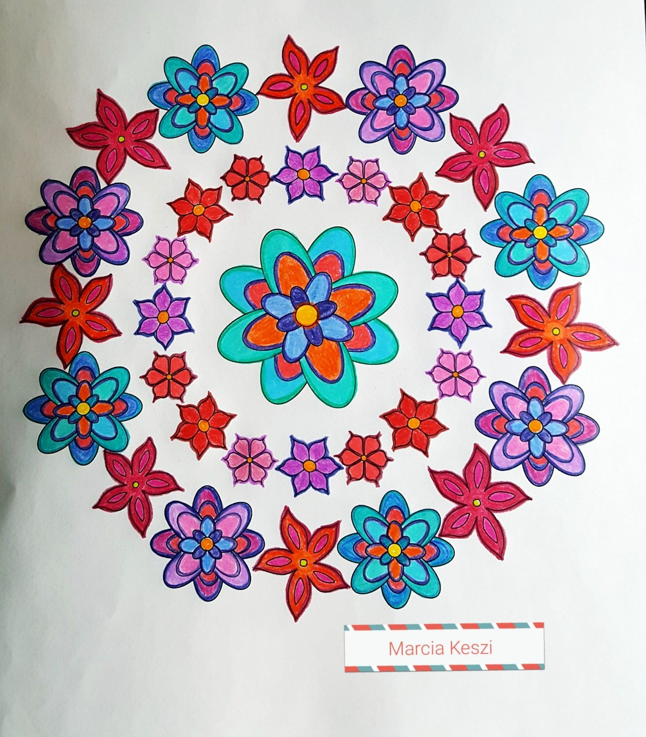There Are 35 Unique Designs In This Coloring Book Mandalas And Other Simple Can