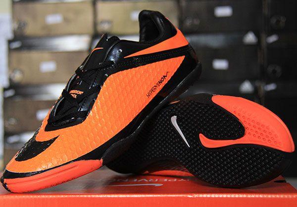 Nike Hypervenom Hitam Orange Sepatu Nike Hitam