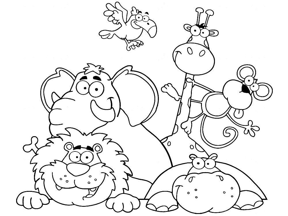 intrincados dibujos para colorear animales intrincadas páginas para ...