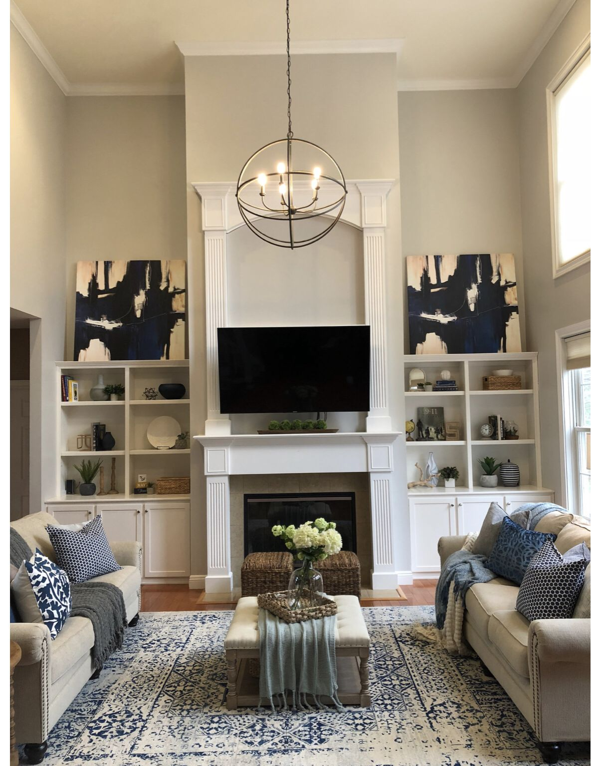 Sherwin Williams Paint Living Room Ideas: Paint Is Sherwin Williams Crushed Ice