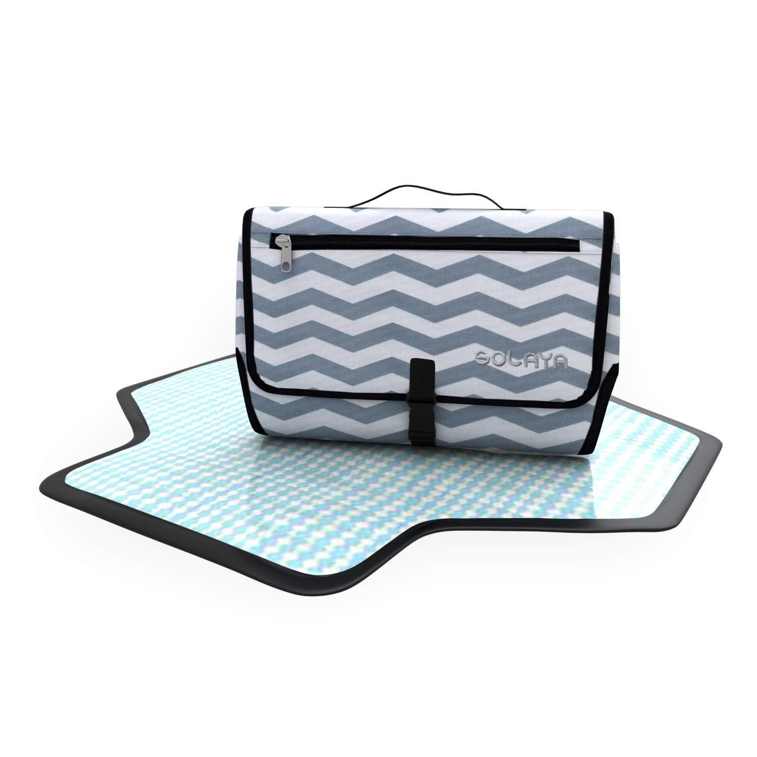 Baby Changing Mat Waterproof Portable Folding Travel Nappy Clutch Bags