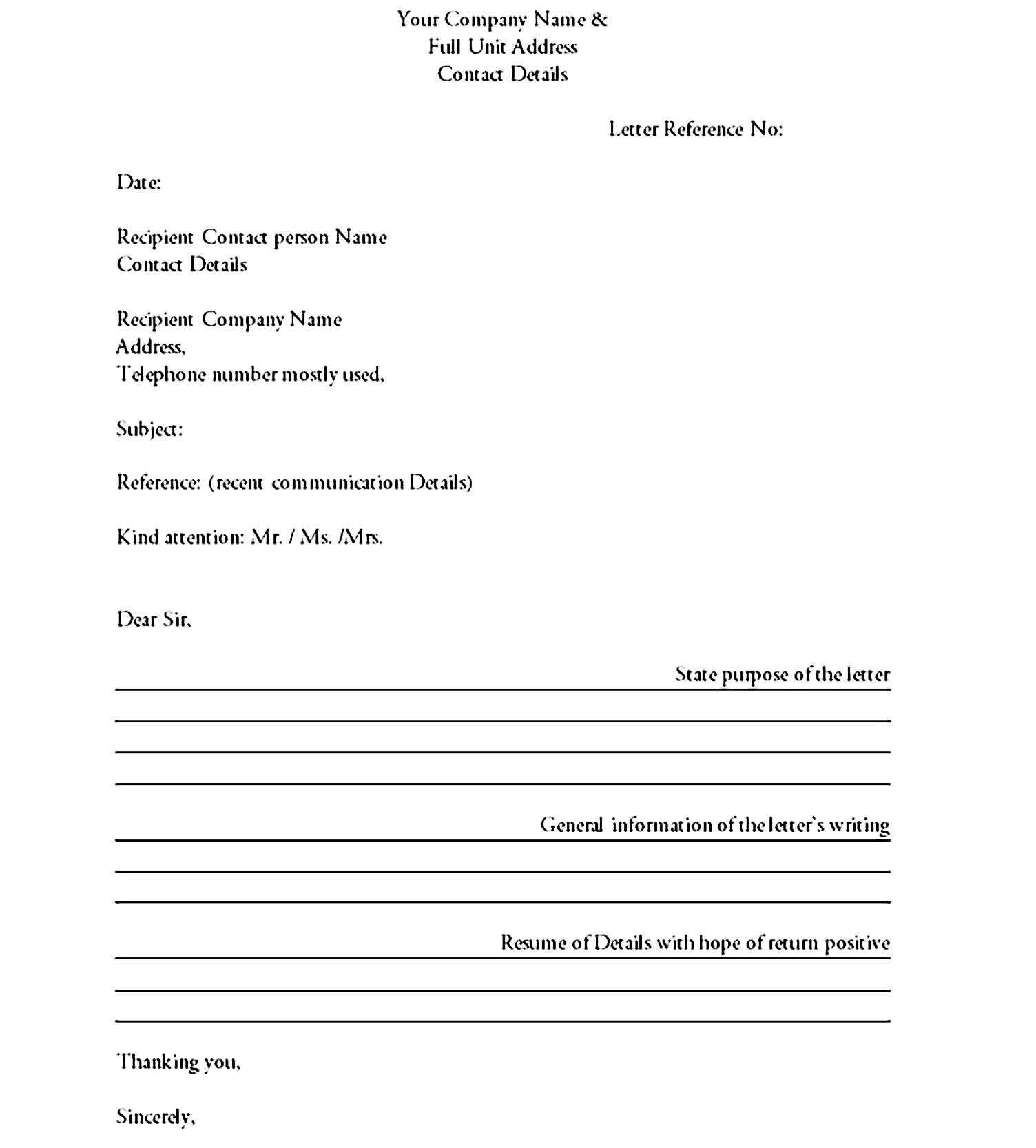 Business Letter Format Sample Business Letter Format Formal Business Letter Letter Format Sample [ 1667 x 1504 Pixel ]