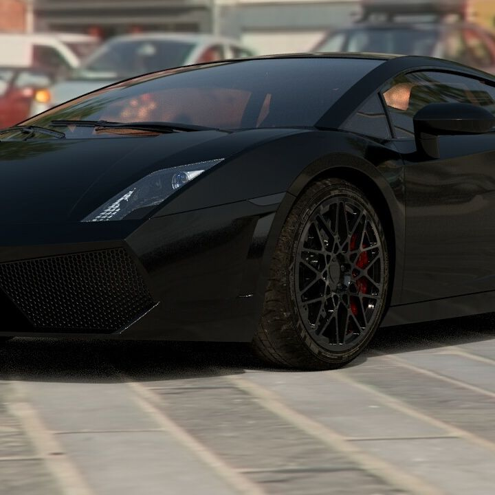 Some Renders Of Lamborghini Aventador Made With Cinema 4d And AutoDesk VRED  .