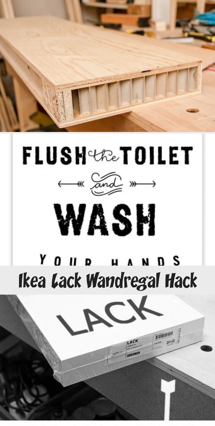 Ikea Lack Wandregal Hack With Images Ikea Lack Hack