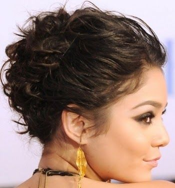 8 Prom Hairstyles For Medium Length Hair 2014 | Curly updo ...