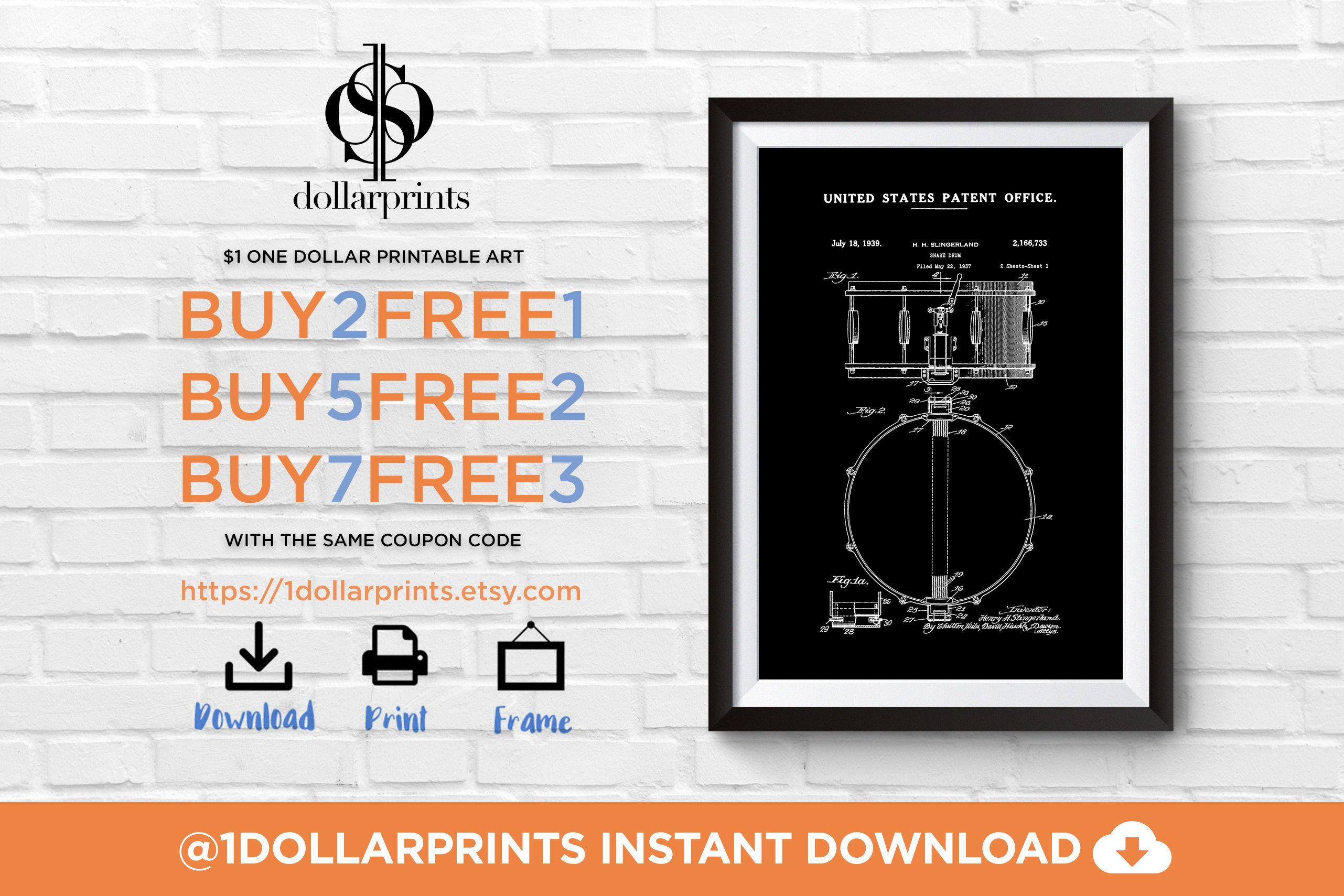 Download once print for life drummer gifts drum poster patent drummer gifts drum poster patent music gift printable art blueprint drummer art snare drum drum patent music room decor malvernweather Images