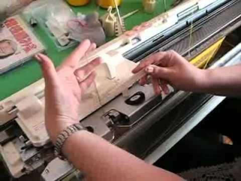 Уроки вязания на сильвер рид 840