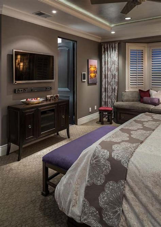 30 Romantic Cozy Master Bedroom Decorating Ideas 2019 ...