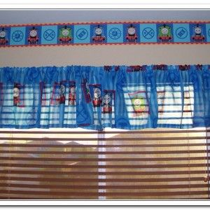 Thomas The Train Curtains Octopus Shower