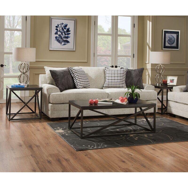 Henthorn Queen Sofa Bed En 2020 Avec Images Parquet Salon Queen Canape