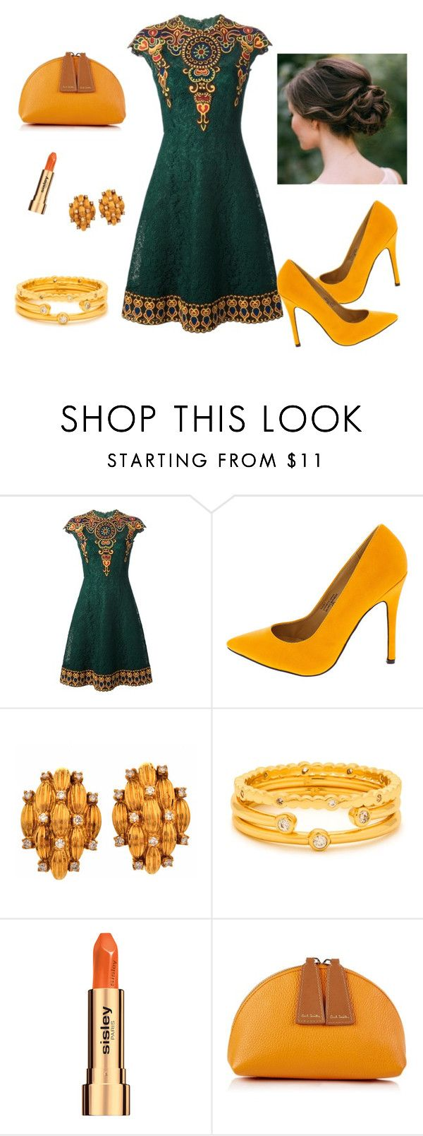 """""""Aristocracy"""" by frerardy ❤ liked on Polyvore featuring Valentino, Gorjana, Sisley and Paul Smith"""