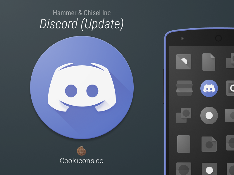 Discord Product Icon Update Icon Android Icons Icon Design