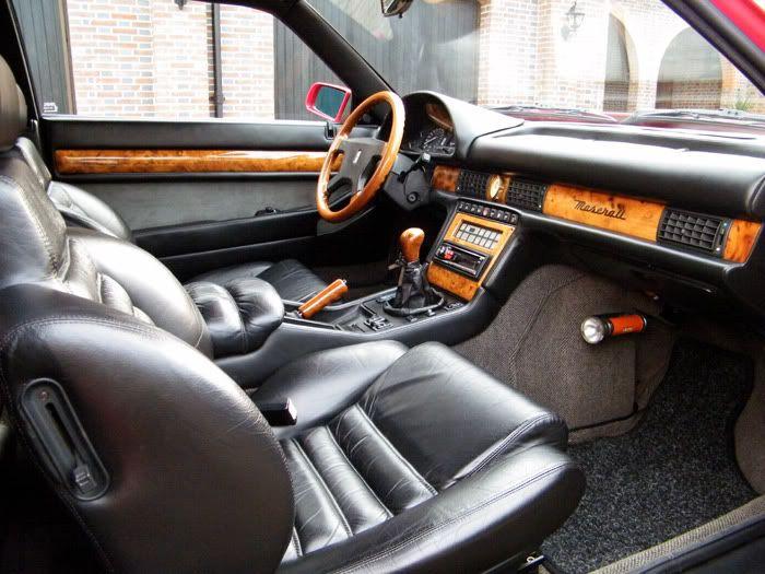 Maserati 222 4v (1991-1994) Interior | Maserati biturbo ...