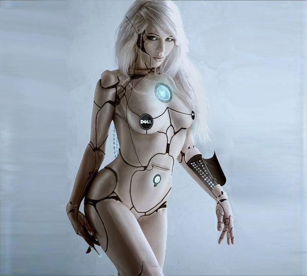 hot nude girl robots
