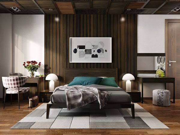 11 ways to make a statement with wood walls in the bedroom interior design ideas