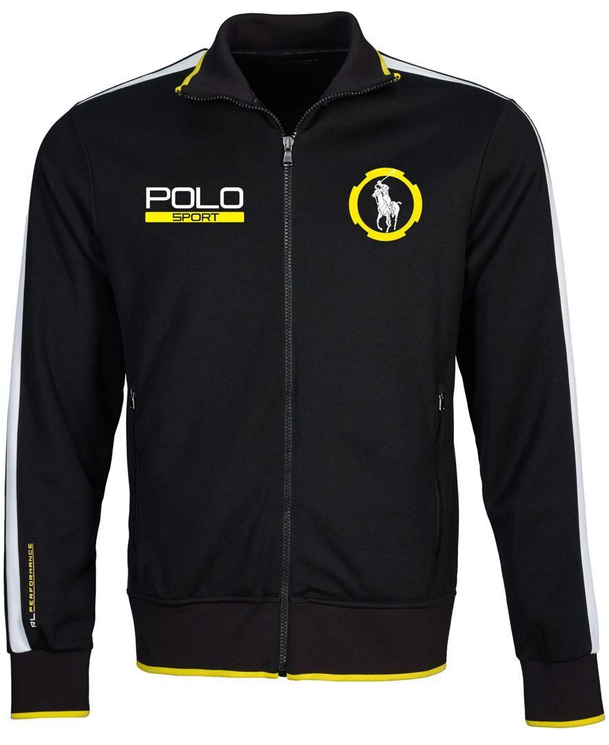 Polo Ralph Lauren Pique Track Jacket Mens outdoor