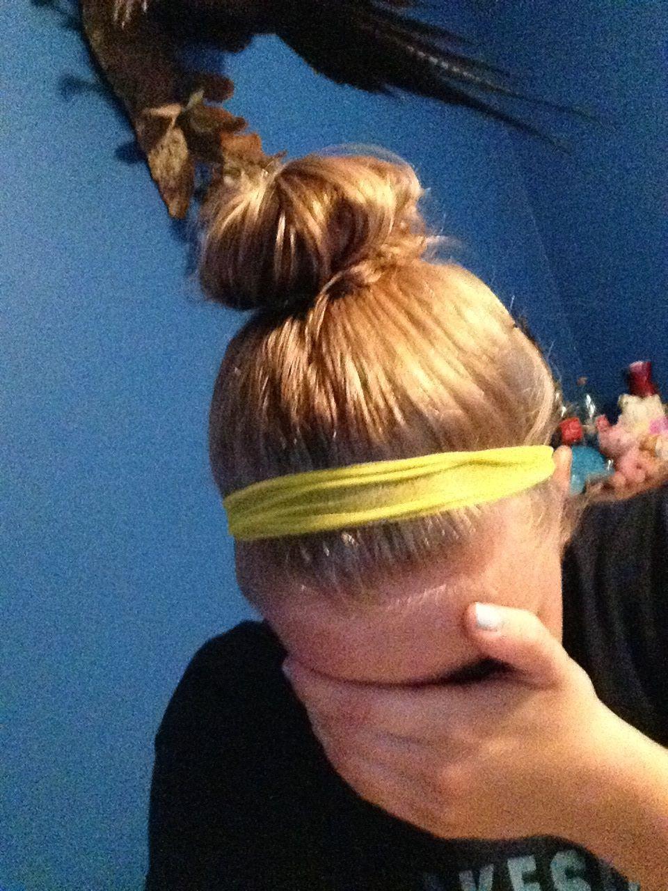 Vbal hair volleyball pinterest perfect messy bun messy buns