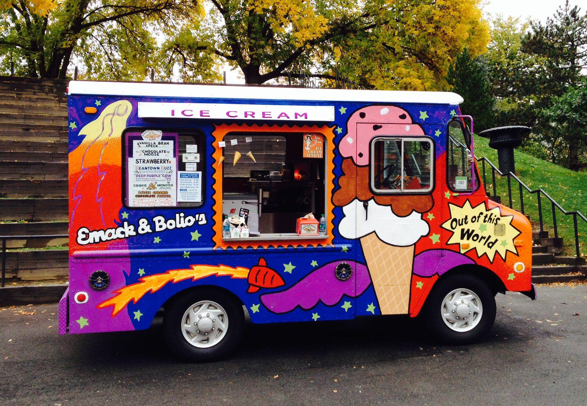 Emack bolios ice cream food trucks food truck