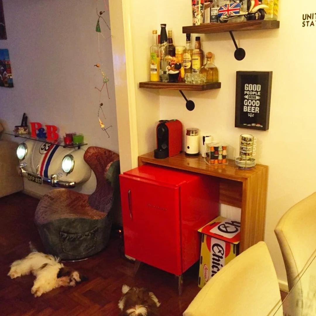 """""""Bom dia! Sala da @nicke_barbie.  Envie sua ideia aqui por mensagem no @ideiasdiferentes ou no email ricardo@ideiasdiferentes.com.br…"""""""