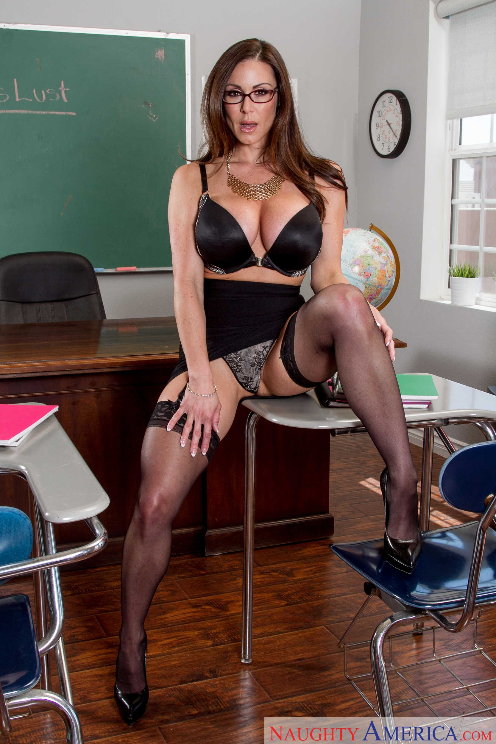 My first hot teacher