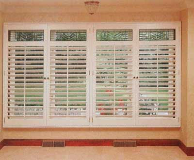 Window Treatment Ideas | Window treatments, Plantation shutter and ...