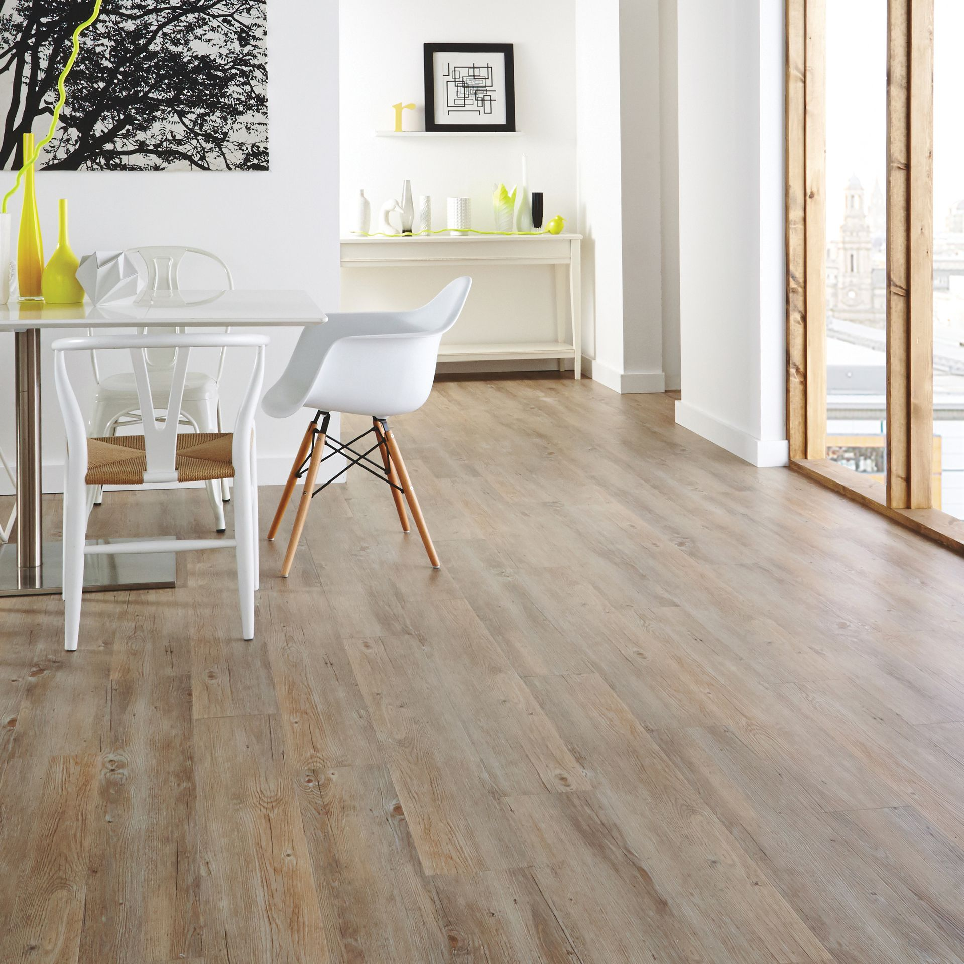 Room VGW81T Country Oak Dining Flooring